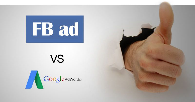 facebook ads vs fadwords
